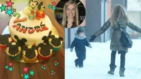Smutné narozeniny syna Ochotské: Táta nikde, smál se jen myšák na dortu