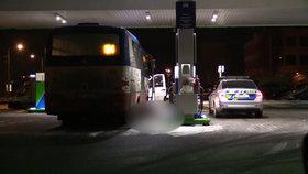 Tragédie v Praze: Řidič nastoupil do autobusu a zemřel