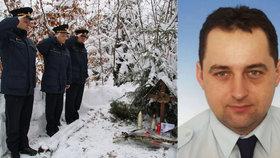 Před deseti lety jim při orkánu Kyrill zemřel kolega: Hasiči uctili památku tragicky zemřelého Dušana