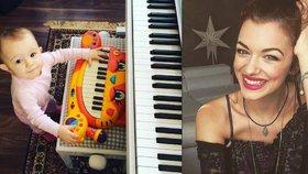 Jitka Boho je pyšná na svoji malou Rosalii: Dcerka podědila hudební talent