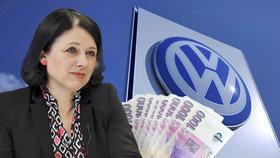 Jourová zuří: Volkswagen neplní sliby. Češi ho kvůli dieselgate ženou k soudu