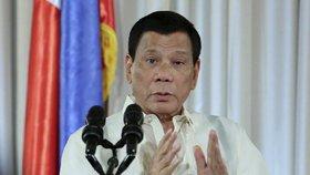 """""""Jděte do p*dele!"""" Filipínský prezident se pustil do politiků EU. """"Jste banda debilů"""""""