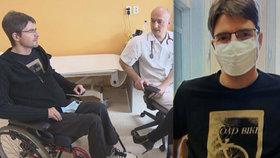 Jančařík o ochrnutí: Začala mi téct krev do míchy! 50 dnů na pokraji smrti