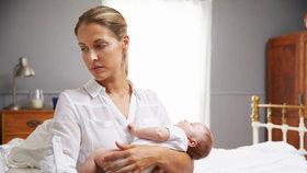 Ženy na mateřské v Americe