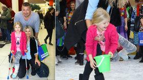 Dcera Jákla a Vítové: Se zlomenou nohou ji vzali na led!