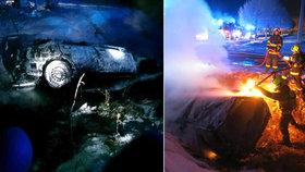 Hrdinný hasič Petr: Cestou na směnu vytáhl z plamenů muže! Zachránil mu život a pokračoval do práce