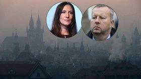 """Smog spory o kontroly kotlů neudusil: """"Zrůdnost,"""" hřímá první dáma ODS"""