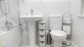 Malá koupelna: Jak ji zvětšit, aby se do ní vešlo vše, co potřebujete
