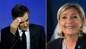 Soupeři Le Penové: Expremiéři v úzkých. Fillon hasí skandál s manželkou