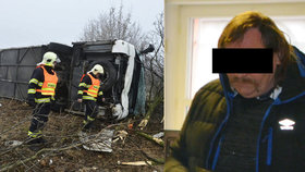 Autobusák při nehodě zranil 35 dětí: Jel jsem trochu rychleji, řekl u soudu