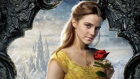 Emma Watson se v roli Krásky zamiluje do zvířete. Podívejte se na úchvatné záběry z filmu Kráska a zvíře