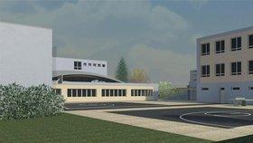Radotínskou základní školu rozšíří: Vyroste tu aula pro 200 lidí