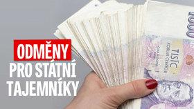 Devět milionů na odměnách: Tak si žijí státní tajemníci na ministerstvech