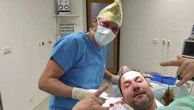 Martin Trnavský skončil pod kudlou! Okolo hlavy spousta krve…