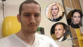 Sportovec Petr (23) bojuje s agresivní rakovinou: Pojďme ho zachránit, burcují celebrity
