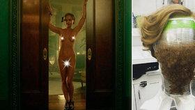 Herečka Christina Ricci z Addamsovy rodiny: Kvůli natáčení musela nosit bobra