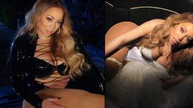 Mariah Carey ve svém klipu přestřelila: Přes latexový kostým jí přetékaly špeky