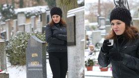 Vymrzlá Jandová: Na hřbitově běhala mezi hroby