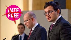 """""""Sluníčkářský"""" projekt proti nenávisti HateFree končí. Ministra tým neobměkčil"""