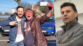 Nejznámější ústecký bezdomovec Indián záhadně zemřel: Hrával hokej s Růžičkou
