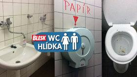 Pokálená mísa a smrad! WC v metru na Českomoravské vám otočí žaludek naruby