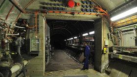 Obnova krytů v podzemí pražského metra: Prostory mají i protichemickou ochranu