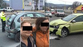 Opilá matka nabourala opilou dceru: Z humorné nehody se stal boj o život!