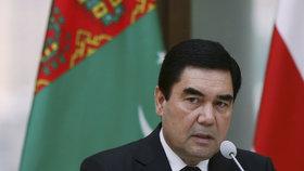 Turkmenistán dál povede diktátor Berdymuhamedov. Získal 98 procent hlasů