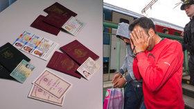 Kvůli cestě s přítelkyní se Němec vydával za Čecha. Za falešný pas dal 26 tisíc
