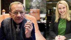 Kubera slavnostně típne poslední cigaretu, kvůli náměstkyni