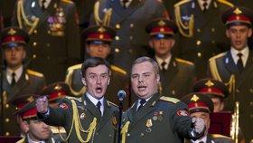 Alexandrovci znovu vystupují: Moskva viděla první koncert od letecké tragédie