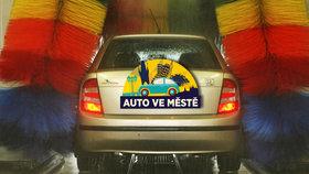 Řidiči, pozor! Auta myjte i během zimy. Sůl a prach dává vozu zabrat
