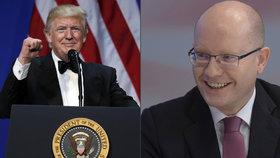 Trump jako vzor pro ČSSD? Studujeme před volbami jeho kampaň, prozradil Sobotka