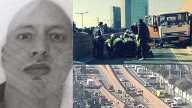 Teroristický poplach v Barceloně: Ukradený náklaďák s plynovými bombami se řítil v protisměru do centra města