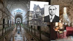 Vězni tu přicházeli o rozum na samotkách a skončil tu i Al Capone: Opuštěná věznice nahání strach