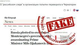 Moskva má nový web. Uvádí na pravou míru dezinformace v zahraničním tisku