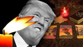 Americké čarodějnice zaklely Trumpa. Chtějí ho tak vypudit z úřadu