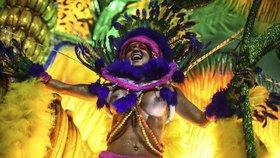 Karneval v Riu je u konce, soutěž škol samby vyhrála Portela