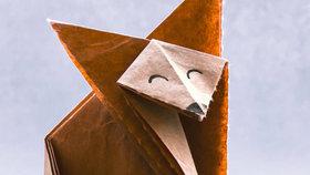 Origami pro začátečníky: Liška, kterou zvládnou i děti
