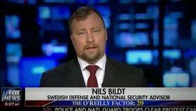 """Expert ze Švédska obhajoval v televizi Trumpa. """"Kdo to je?"""" ptají se Švédi"""