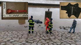 Záhada ženy utopené v Labi: Byla z bohatých poměrů. Policie ukázala její oblečení