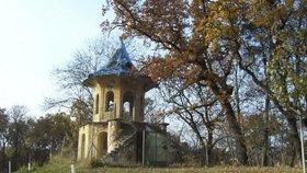 Čínský pavilon v Košířích z roku 1822: Chátrající objekt čeká oprava