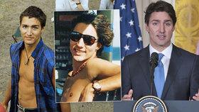 Kanadský premiér vzbudil fotkami z mládí zájem žen o politiku. Divíte se?