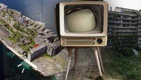 Opuštěný japonský ostrov láká turisty i filmaře: Post-apokalyptické kulisy si zahrály i v bondovce