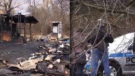 Při požáru chatky našli hasiči mrtvolu: Oheň měl patrně zakrýt stopy po vraždě!