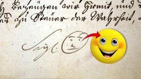 Unikátní objev: Archeologové z Brna odhalili smajlíka z roku 1741!
