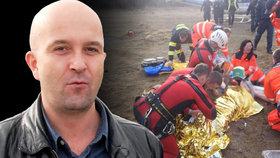 Brněnský režisér Milan Vorlíček (†47) uvízl pod ledem a zemřel