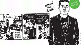 Recenze: Nebuď jak gádžo, říkali mu… Černobílý komiks odhaluje pohnutý osud mladého Roma