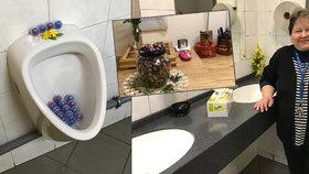 Jaroslava vytvořila nejútulnější záchody v Praze. Dá vám bonbon i figurky