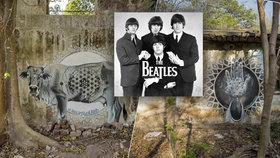 Meditovali zde Mick Jagger i Beatles, teď je chrám v troskách: Dnes tu potkáte jen sprejery